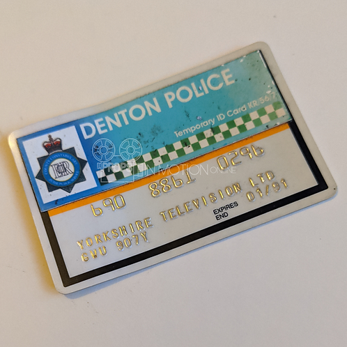 A Touch of Frost (TV) Denton Police Card (0532)