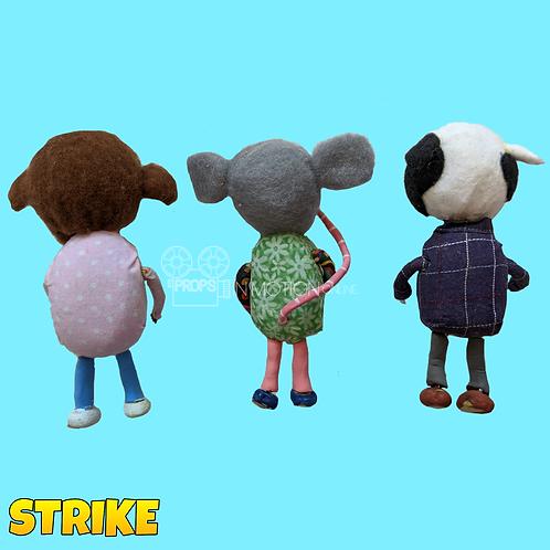 Strike (2018) 3 Faceless Fans (S174)