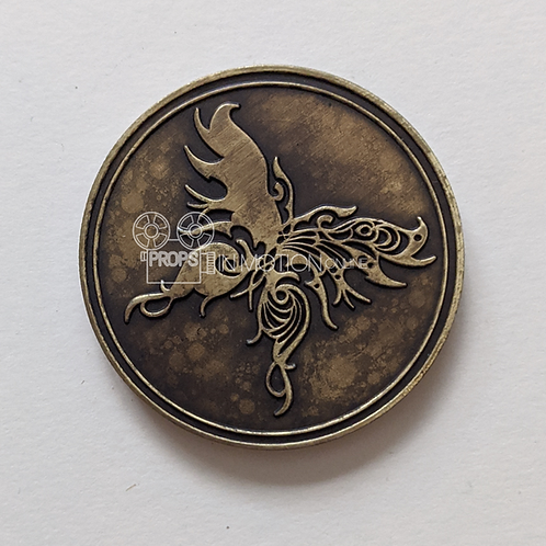Into the Badlands (TV) Widow Butterfly Coin (0731)
