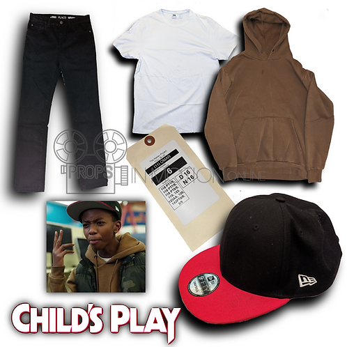 Childs Play (2019) Omar (Marlon Kazadi) Costume (0712)