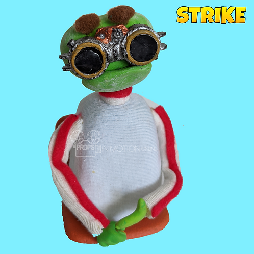 Strike (2018) Stadium Crowd Stop Motion Puppet with Seat (S34)