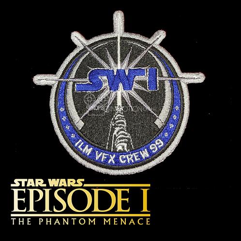 Star Wars Episode 1 (1999) ILM Crew Patch