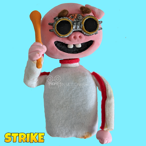Strike (2018) Crowd Stop Motion Puppet (Without seat) (S74)