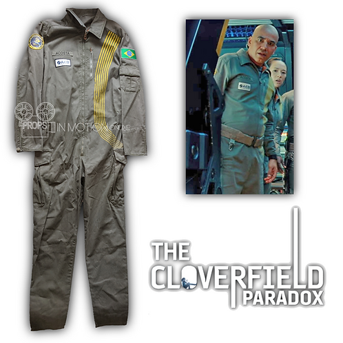 Cloverfield Paradox (2018) Acosta/Monk (John Ortiz) Helios Suit (0715)