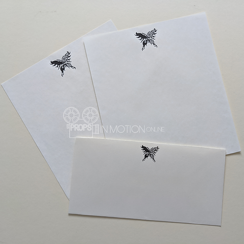 Into the Badlands (TV) The Widow (Emily Beecham) Paper + Envelope (0008)