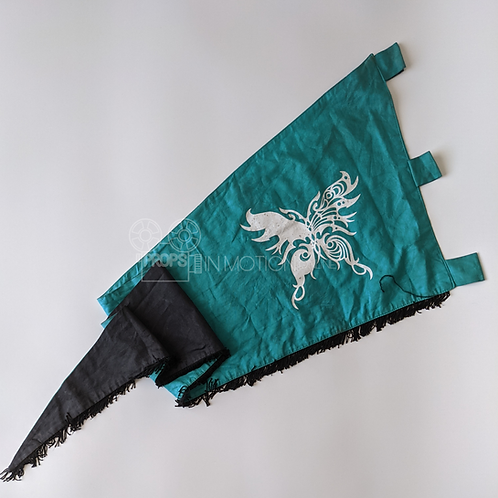 Into the Badlands (TV) Widow Territory Butterfly Flag (0786)