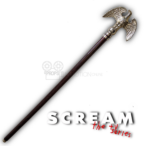 Scream The Series (TV) (2019) Liv (Jessica Sula) Eagle Flagpole
