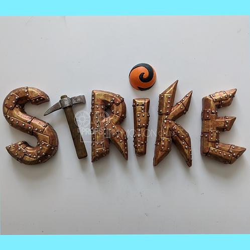 Strike (2018) Title Logo (S311)