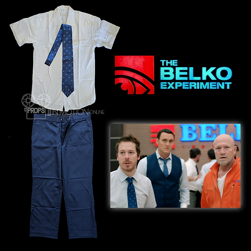 The Belko Experiment (2016) Mike Milch (John Gallagher Jr) Costume (0546)