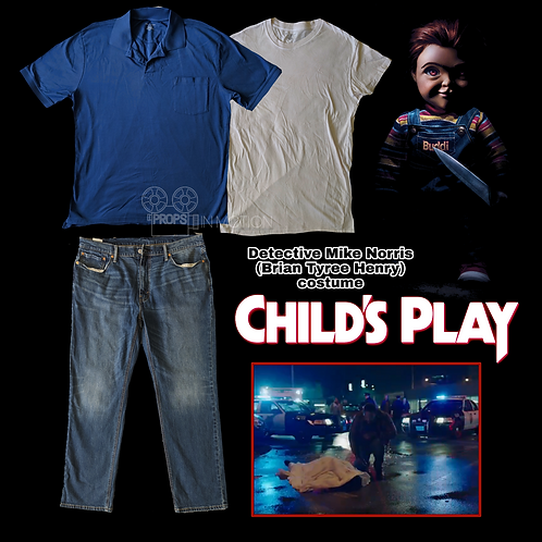 Child's Play (2019) Detective Mike Norris (Brian Tyree Henry) Costume