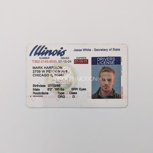 The Unborn (2009) Mark (Cam Gigandet) Drivers license (0817)