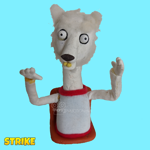 Strike (2018) Stadium Crowd Stop Motion Puppet with Seat (S42)