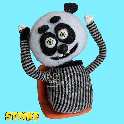 Strike (2018) Stadium Crowd Stop Motion Puppet with Seat (S19)