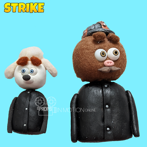 Strike (2018) 2 small Miner Busts (S259)