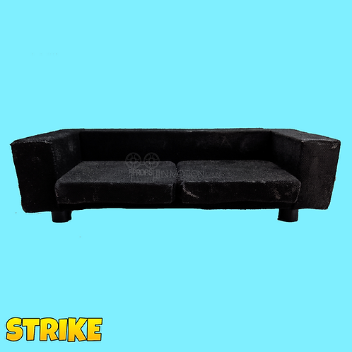 Strike (2018) Black Sofa (S240)