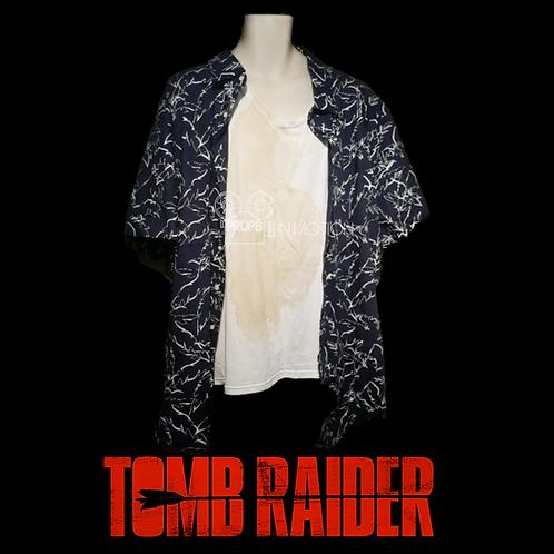 Tomb Raider (2018) Alan (Nick Frost) Shirts + Socks (0704)