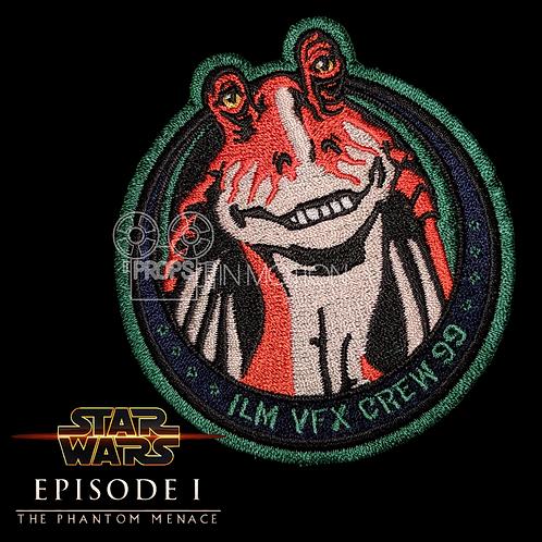 Star Wars Episode 1 The Phantom Menace (1999) Jar Jar Binks ILM VFX Crew Patch
