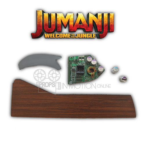 Jumanji Welcome to the Jungle (2017) Console Pieces