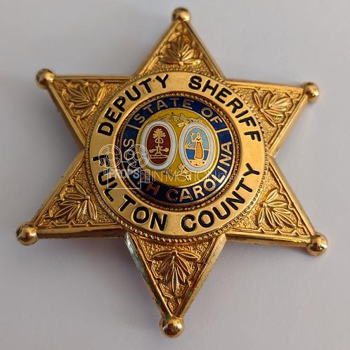 American Gothic (TV) (1995-8) Deputy Sheriff Ben Healy (Nick Searcy) Badge (580)