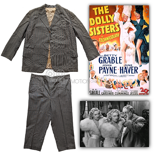 The Dolly Sisters (1945) Uncle Latsie Dolly (S.Z Sakall) Suit (0695)