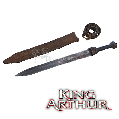King Arthur (2004) Woad Warrior Prop Sword + Sheath