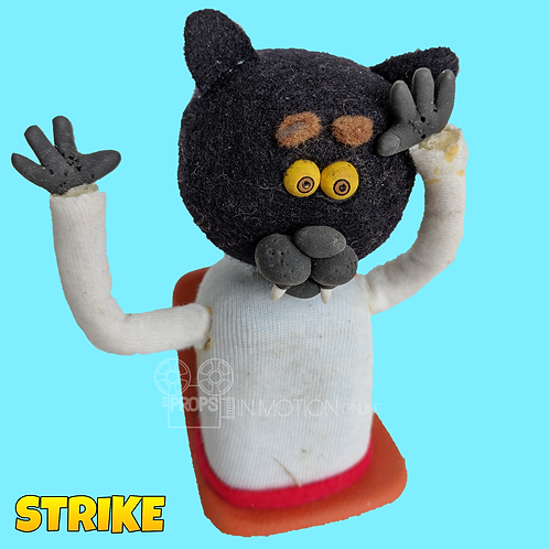 Strike (2018) Stadium Crowd Stop Motion Puppet with Seat (S40)