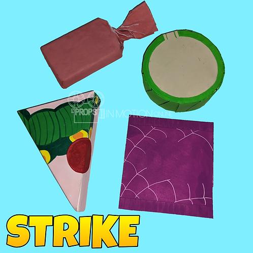 Strike (2018) 4 Mine Vending Machine Oversized Insert Pieces (S88)