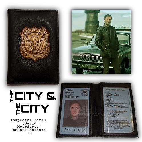 The City and The City Borlu (David Morrissey) Beszel Polizai I.D