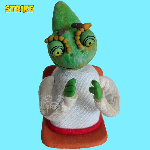 Strike (2018) Stadium Crowd Stop Motion Puppet with Seat (S27)