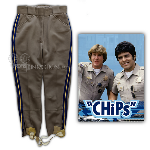CHIPs (1977-1983) Motorcycle Pants (0697)