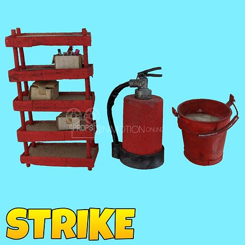 Strike (2018) Boss' compound construction pieces (S291)