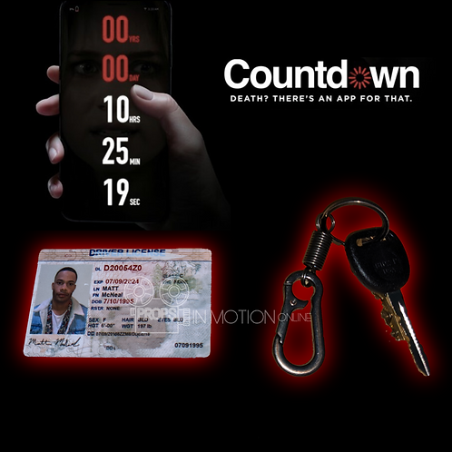 Countdown (2019) Matt's Drivers License + Key (0711)