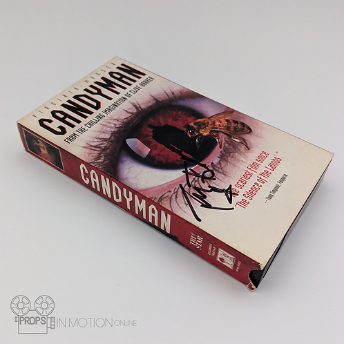 Candyman (1992) VHS Signed by Tony Todd (0852)