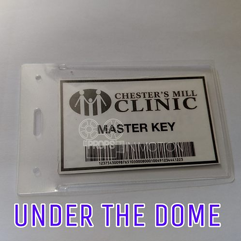 Under the Dome (2013-2015) Chesters Mill Clinic Key Card