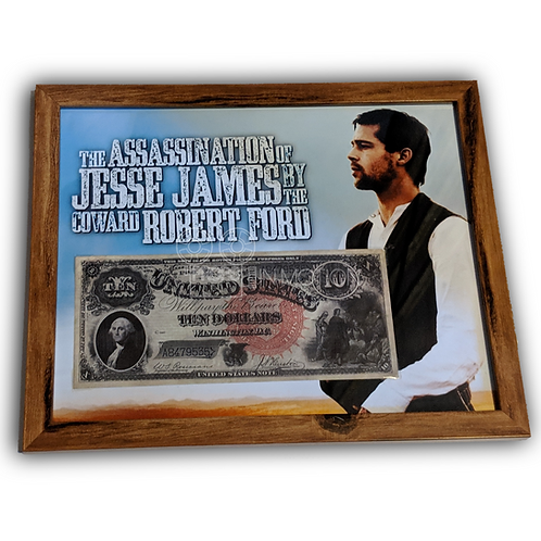 The Assassination of Jesse James by the coward Robert Ford (2007) $10 Bill