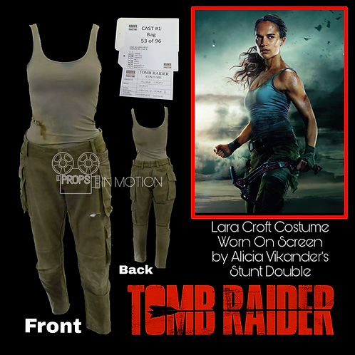 Tomb Raider (2018) Lara Croft Costume