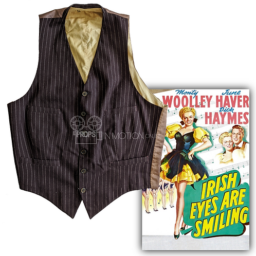 Irish Eyes Are Smiling (1944) Al Jackson (Anthony Quinn) Waistcoat (0667)