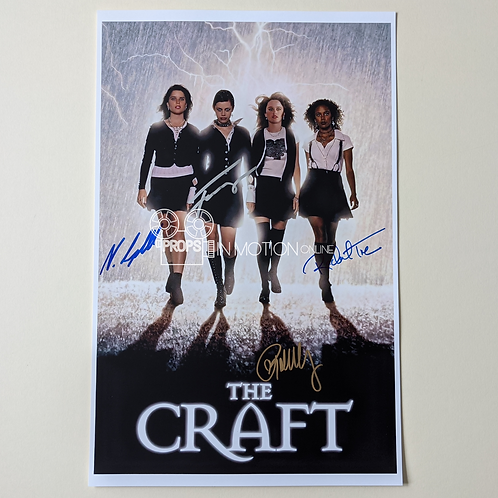 The Craft (1996) Cast Signed mini-poster