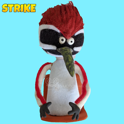 Strike (2018) Stadium Crowd Stop Motion Puppet with Seat (S16)
