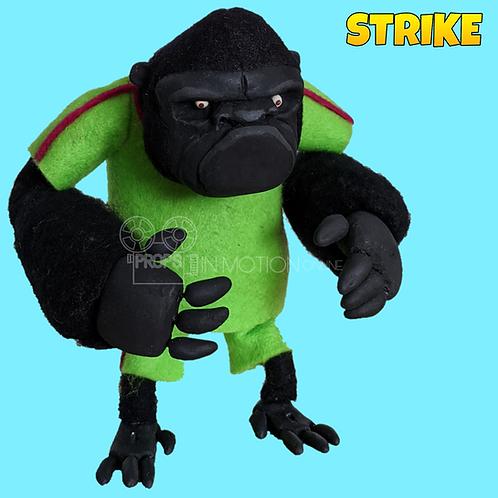 Strike (2018) Gorilla Stop Motion Puppet (S131)