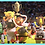 Thumbnail: Strike (2018) Wildcup England Hippo with Player on back (S214)