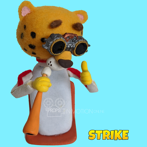 Strike (2018) Stadium Crowd Stop Motion Puppet with Seat (S39)