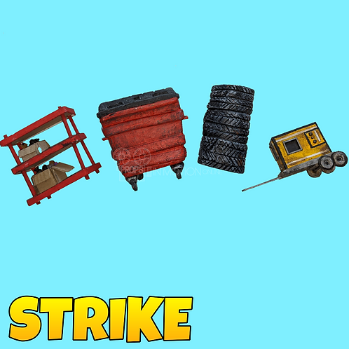 Strike (2018) Collection of pieces (S284)