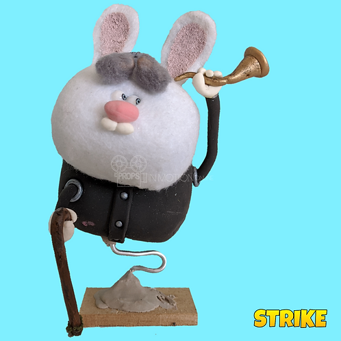 Strike (2018) Stop Motion Puppet (S91)