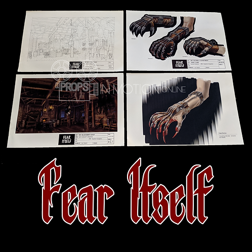 Fear Itself (2008-2009) Concept Designs