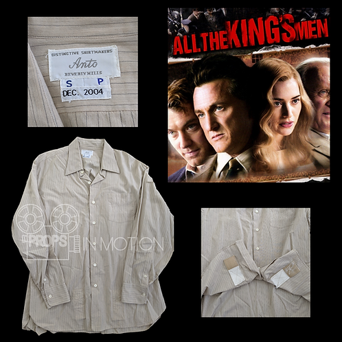 All the King's Men (2006) Willie Stark (Sean Penn) Shirt (0552)
