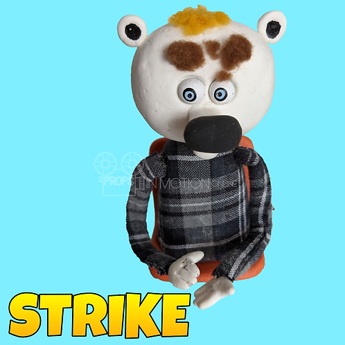 Strike (2019) Stadium Crowd Stop Motion Puppet with Seat (S03)