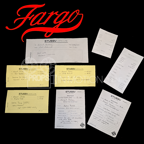 Fargo (TV) (2014-????) Emmit Stussy (Ewan McGregor) Stussy Lots Memos
