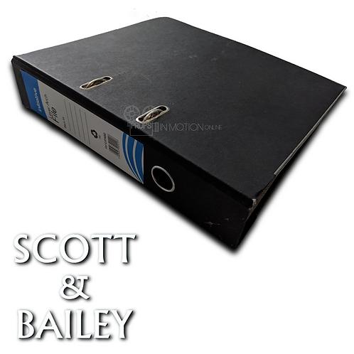Scott and Bailey (TV) Season 5 Scripts + Schedule Binder