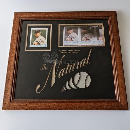 The Natural (1984) Roy Hobbs (Robert Redford) Framed Baseball Card (0782)